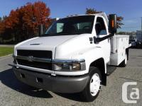 Make Chevrolet Model C4500 Year 2004 Colour White kms for sale  British Columbia