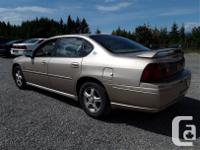 Make Chevrolet Model Impala Year 2004 Colour Grey kms
