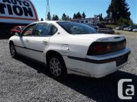 Make Chevrolet Model Impala Year 2004 Colour white kms