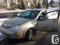For sale 2004 chevrolet optra only 117000 k on