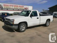 Make Chevrolet Year 2005 Colour White Trans Automatic