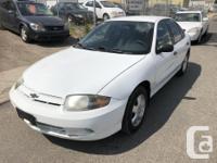 Make Chevrolet Model Cavalier Year 2004 Colour WHITE