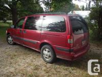 Make Chevrolet Model Venture Year 2004 Colour red kms