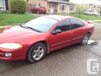 Make Chrysler Model Intrepid Year 2004 Colour Red