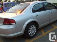Make Chrysler Model Sebring Year 2004 Colour Silver