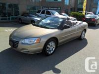 2004 Chrysler Sebring Convertible with only 97,000 K!
