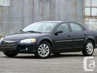 Make Chrysler Model Sebring Year 2004 Colour black kms