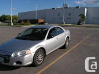 Make Chrysler Model Sebring Year 2004 Colour Grey kms