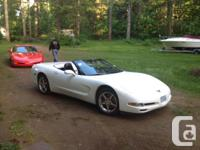 Make Chevrolet Model Corvette Year 2004 Colour white