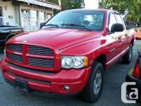 Make. Dodge. Model. Ram 1500. Year. 2004. Colour. Red.