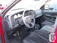 Make. Dodge. Version. Ram 1500. Year. 2004. Colour.