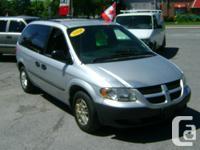 Make Dodge Model Caravan Year 2004 Colour Silver kms