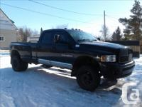Make Dodge Model Ram 3500 Year 2004 Colour Black Trans