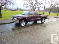 2004 Dodge Dakota 4.7L SLT 4x4. Moving must sell. $7900