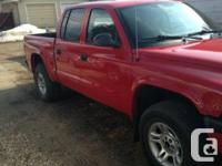 Make Dodge Model Dakota Year 2004 Colour Red kms