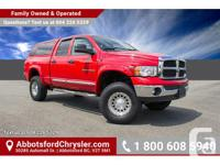 Make Dodge Model 1500 Year 2004 Colour Red kms 111732