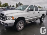 Make Dodge Model Ram 2500 Colour White Trans Automatic