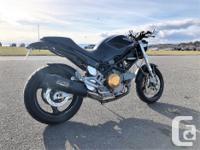 Make Ducati Year 2004 kms 9100 2004 Ducati Monster 620