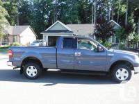 Make. Ford. Model. F-150. Year. 2004. Colour. blue.