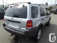 Make Ford Model Escape Year 2004 Colour Silver kms