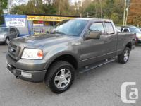 2004 ford f150 fx4 super cab 4x4 4dr 169000kms full