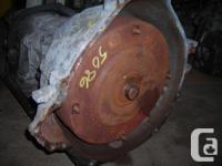 2004 FORD F250 ECONOLINE TRANNY, V8 4.6L ENGINE, 2WD,