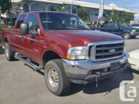 Make Ford Model F-350 SD Year 2004 Colour Red kms