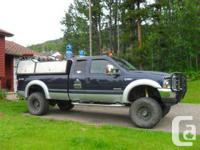 Tumbler Ridge, BC 2004 Ford F-350 Lariat Super Duty