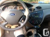 2004 Ford Focus SE-Priced for quick sale as we do not