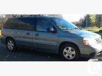 2004 Ford Freestar Van, apprx.166,000 km, light blue in