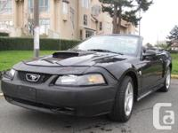 2004 Mustang GT Convertible 40th Anniversary Edition  