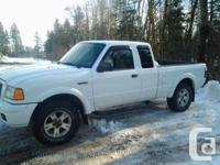 for sale 2004 ford ranger 4x4. truck is a 4.0L with