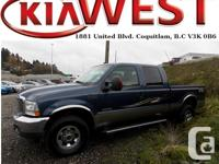 This 2004 Ford Super Duty F-350 Crew Cab Fx4 has just