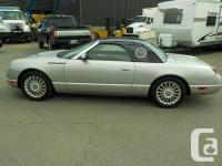 Make Ford Model Thunderbird Year 2004 Colour Silver