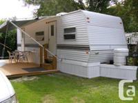 Beautiful travel trailer located in Cedar Beach Trailer