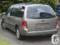 Make Ford Model Freestar Colour Beige Trans Automatic