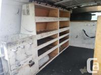 Make GMC Model Savana Cargo Van Year 2004 Colour white