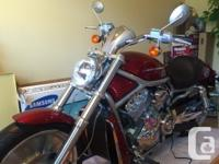 Make Harley Davidson Model V-Rod Year 2004 kms 805 2004