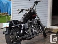 2004 Harley FXDLI 26000 Km Stage 1 kit V&H pipes lots