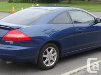 Make Honda Model Accord Coupe Year 2004 Colour Blue