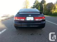 Make Honda Model Accord Sedan Year 2004 Colour Black