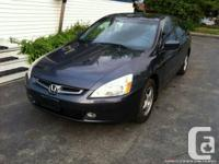 2004 Honda Accord LX, 27 Months Powertrain Warranty,