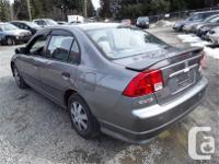 Make Honda Model Civic Year 2004 Colour Grey kms