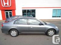 Make Honda Model Civic Sdn Year 2004 Colour Grey kms