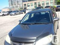 Silver-Grey 2004 Honda Civic Si, Automatic with