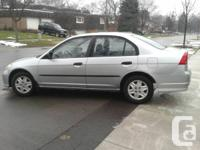 Selling my Silver 2004 Honda Civic Special Edition, 4
