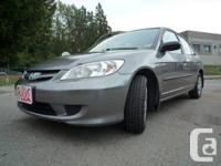 This Civic is in great condition! It is a local BC
