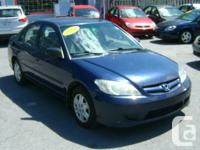 Make Honda Model Civic Year 2004 Colour Blue kms