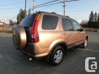 Make Honda Model CR-V Year 2004 Colour GOLD kms 87652