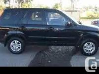 Make Honda Model CR-V Colour Black Trans Automatic kms